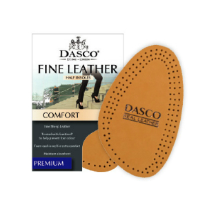 Dasco Ladies' Fine Leather Fashion Insoles