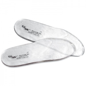 Clearly Adjustable Full Length Height Increasing Insole