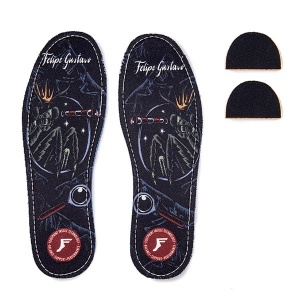 Footprint Kingfoam Gustavo Illuminist 5mm Flat Insoles