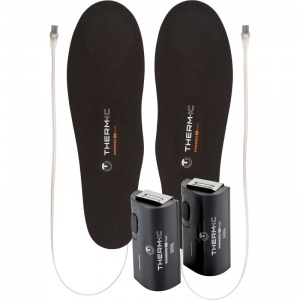 Therm-IC Heat Flat Heated Insoles Set with C-Pack 1300 Battery