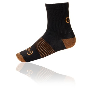 Warm Short Copper Compression Socks