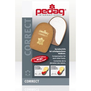 Pedag Correct Heel Pads for Bow Legs