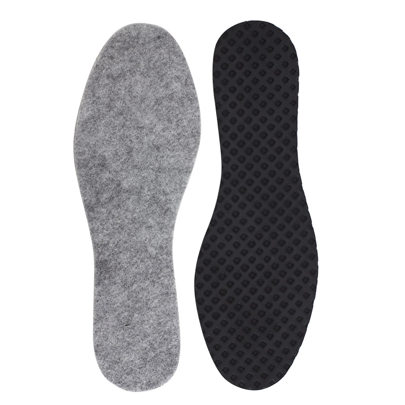 Woly worker insoles to improve fit of shoes