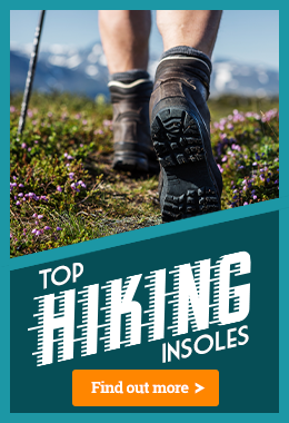 Best Insoles for Support and Comfort While Hiking