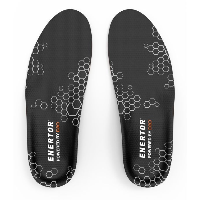 Enertor Full Length Shock Reducing Insoles for Hiking