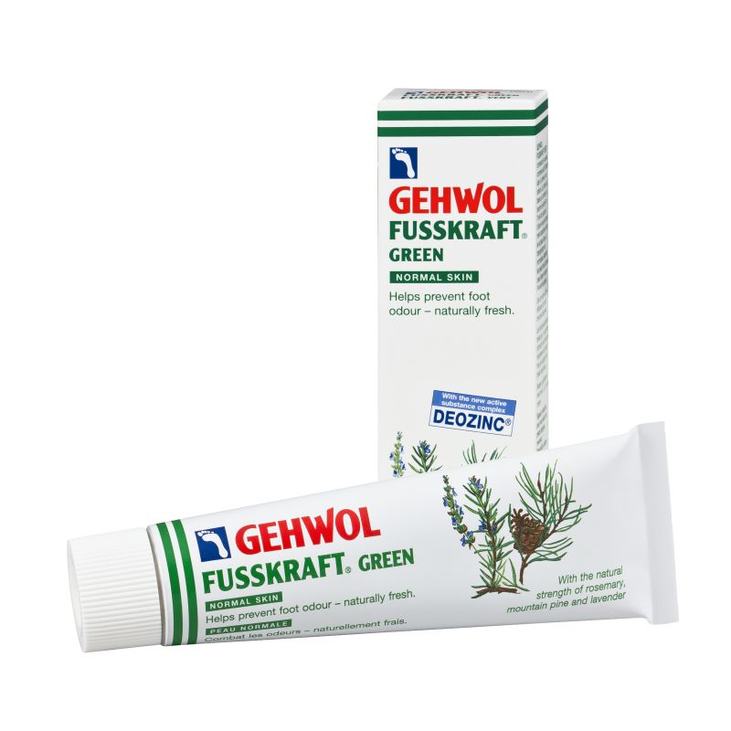 GEHWOL Fusskraft Green Cream for Sweaty Feet