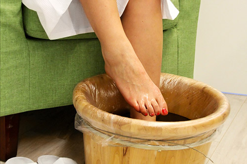 Soothing Foot Bath