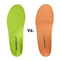 Superfeet Green vs Superfeet Orange Insoles