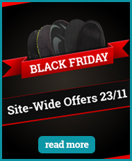 Black Friday sale on shoe insoles on 23rd of November 2018