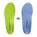 Superfeet Blue vs Superfeet Green Insoles