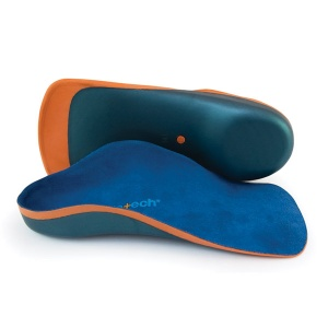 Moulded insoles to help kids who suffer from tendon pain or postural related symptoms