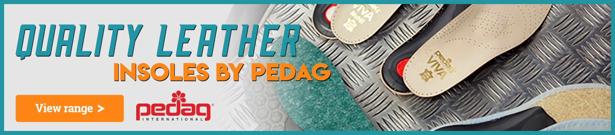Visit our Pedag Category to See Our Full Range of Pedag Insoles