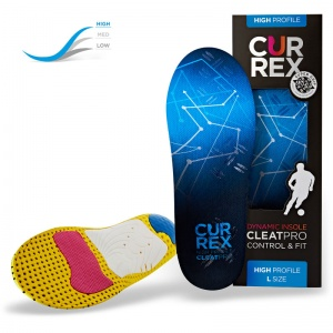CurrexSole CleatPro High Profile Dynamic Insoles