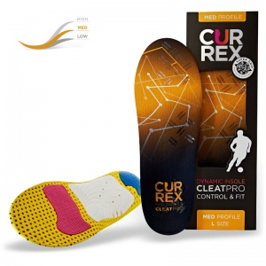 CurrexSole CleatPro Medium Profile Dynamic Insoles