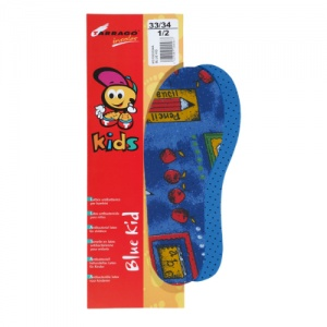 Tarrago Blue Kids' Cut-To-Size Insoles