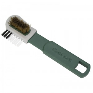 Collonil Brass Combi Brush for Leather Cleaning