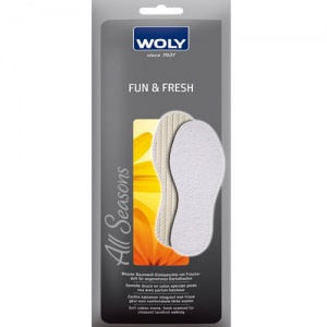 Woly Fun and Fresh Insoles - Money Off!