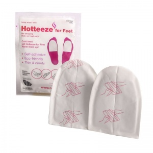 Hotteeze for Feet Self-Adhesive Heat Pads (Pack of 5)