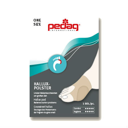 Pedag Hallux Soft Gel Big Toe Pad