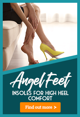 Improve the Feel of Your Heels with Angel Feet