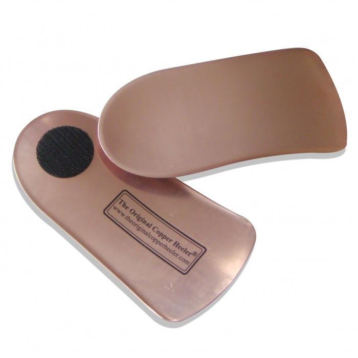Original Copper Heeler Insoles - As Featured On TV and In The Press