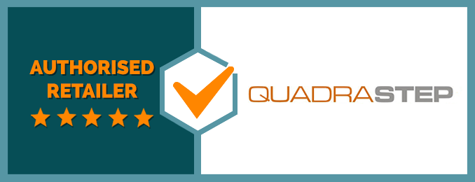 We Are an Authorised Retailer of Quadrastep
