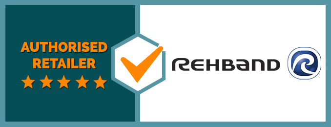 We Are an Authorised Retailer of Rehband Products