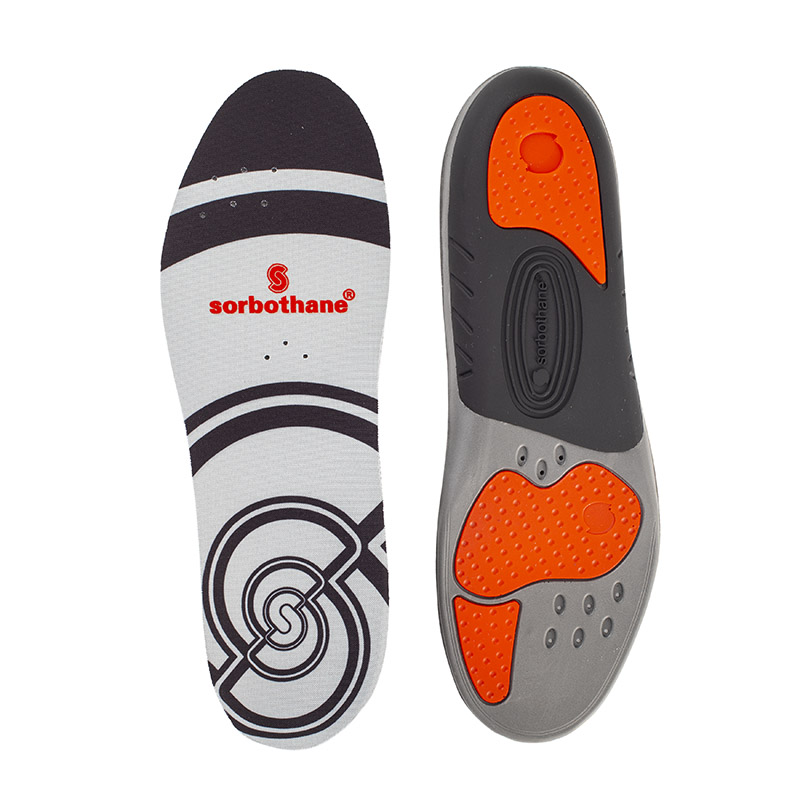 Sorbothane Insoles Single Double Full Strike Sorbo-Pro Sports Orthotic Foot Care