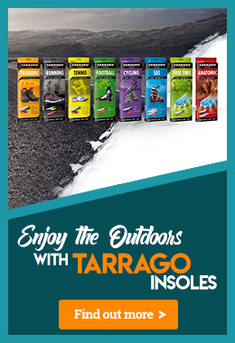 Tarrago Insoles to Keep You Comfortable Outdoors