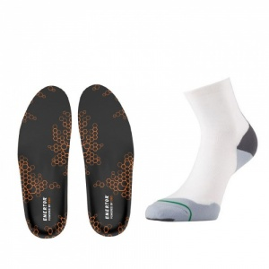 Sports Support Socks and Insoles Bundle