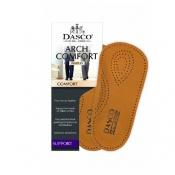 Dasco Ladies' Leather Arch Comfort Insoles
