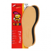 Tarrago Pecari Kids' Cut-To-Size Leather Insoles