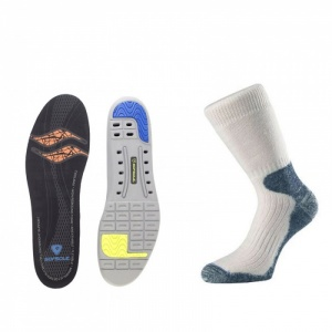 Cricket Support Socks and Insoles Bundle