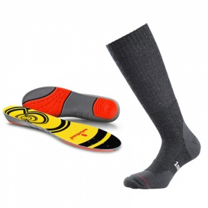 Hiking Support Socks and Insoles Bundle