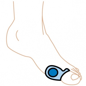 Silipos Gel Bunion Pad