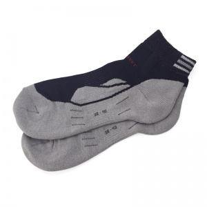 12% Silver Sports Footie Socks
