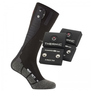 Therm-IC Powersock Multi Heat Heated Sock Double Set with S-Pack 700 Battery