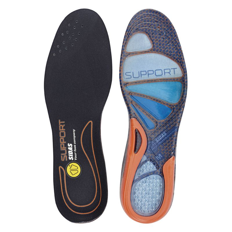 Sidas F-Essentials Cushioning Gel Support Insoles