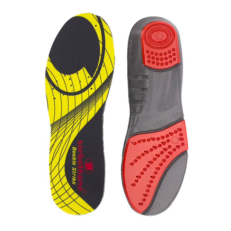 Sorbothane Shock Stopper Double Striker Insoles