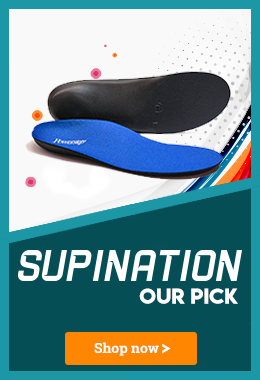 Our Best Insole for Supination